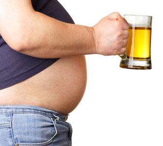 Как убрать пивной живот мужчине?